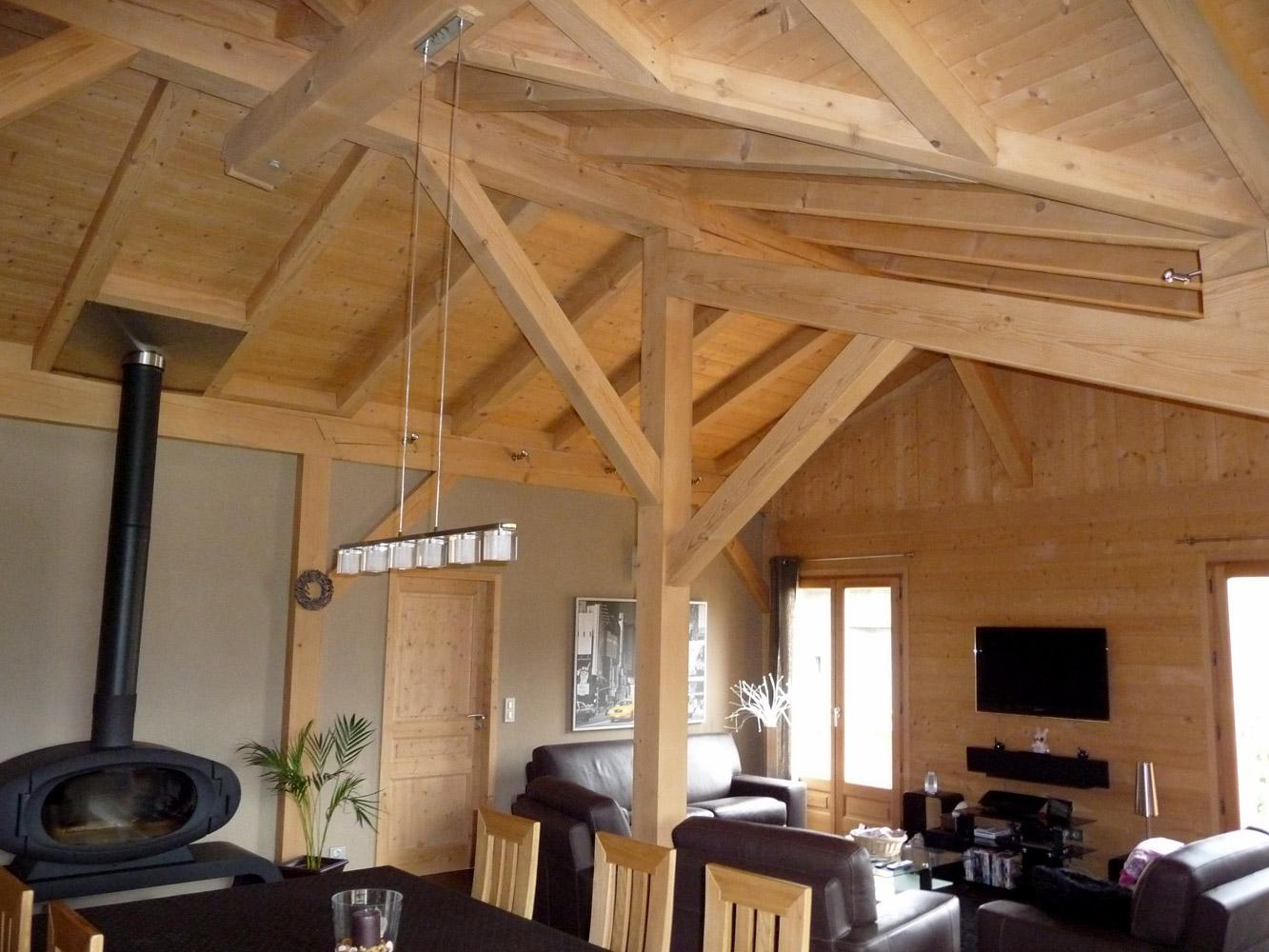 charpente bois apparente qx91 humatraffin. Black Bedroom Furniture Sets. Home Design Ideas